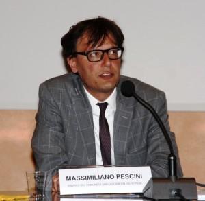 Massimiliano Pescini, sindaco di San Casciano