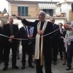 La benedizione di don Franco Del Grosso