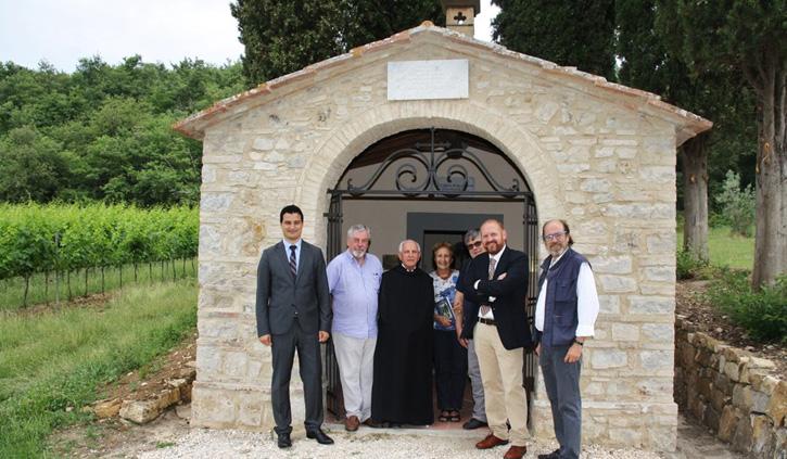 L'antica cappella dei Pesci di Badia ritorna al suo splendore