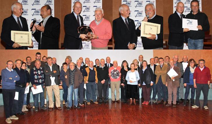 70 anni Cna: artigiani premiati in Auditorium ChiantiBanca