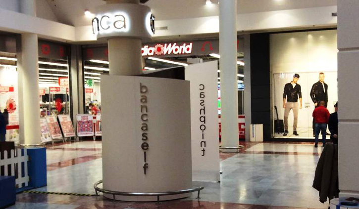 Attivato un ATM evoluto nel centro commerciale I Gigli