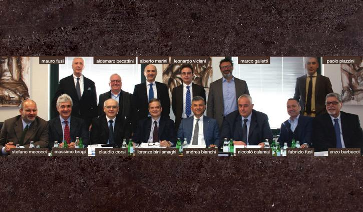 Prima seduta del nuovo Cda di ChiantiBanca eletto il 10 aprile