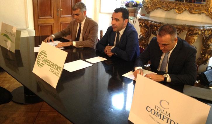 Sostegno alle PMI insieme a Confesercenti Firenze e Italia Comfidi