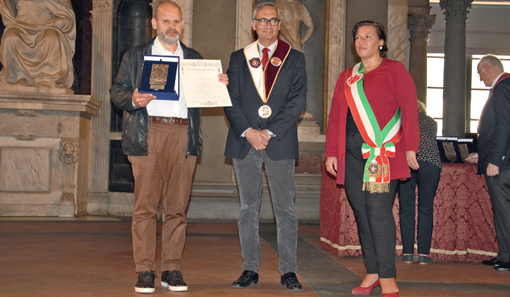 """ChiantiBanca ha ricevuto il Premio Europeo """"Lorenzo il Magnifico"""""""