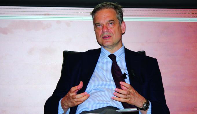 Il presidente Bini Smaghi al Forum Ambrosetti di Cernobbio: le interviste in TV