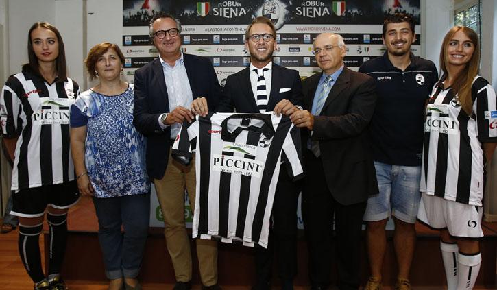 ChiantiBanca sulle maglie della Robur Siena per la stagione 2016/2017