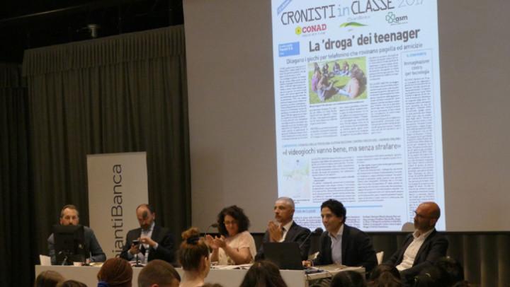 """Con ChiantiBanca la carica dei mille (studenti) per il """"Campionato di giornalismo"""""""