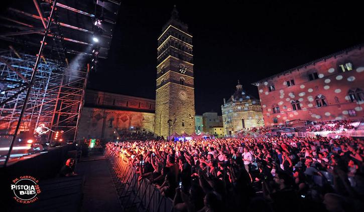 ChiantiBanca, top sponsor del Pistoia Blues Festival: tutta un'altra musica
