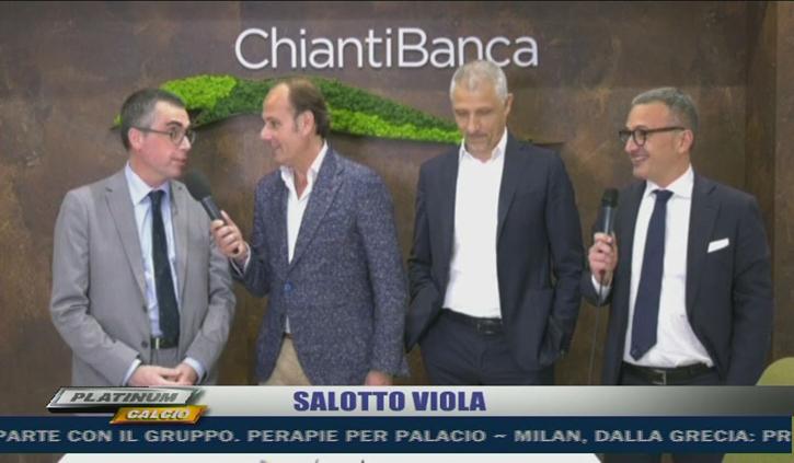 ChiantiBanca in tv: la filiale di viale Europa ospita il Salotto Viola