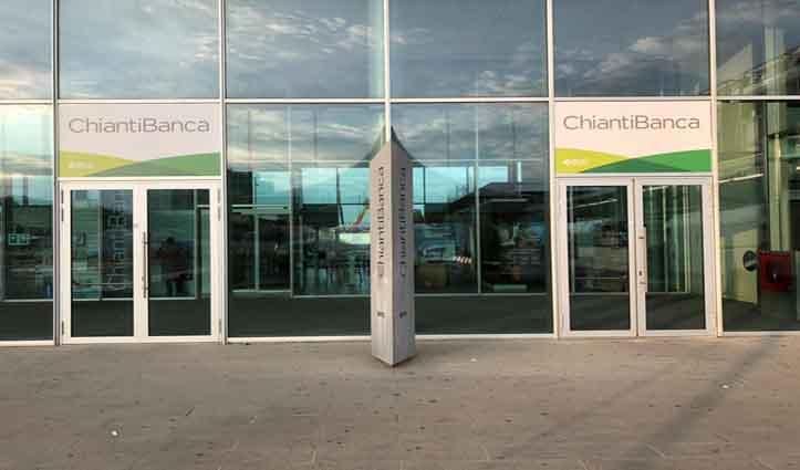 L'area self di ChiantiBanca al servizio della fiera di Scandicci