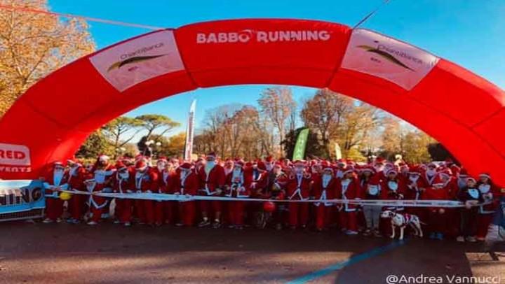 """Con la """"Babbo Running"""" per ChiantiBanca è già Natale"""